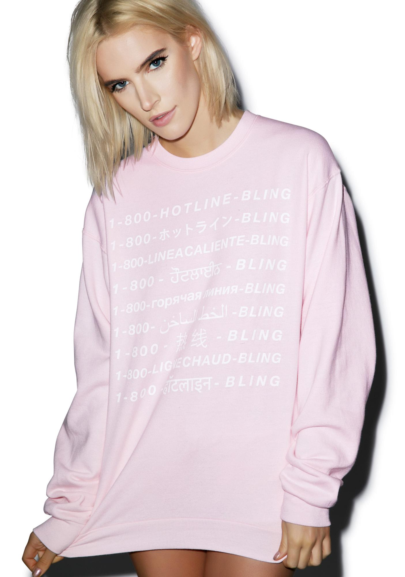 Petals and Peacocks Int'l Hotline Sweatshirt