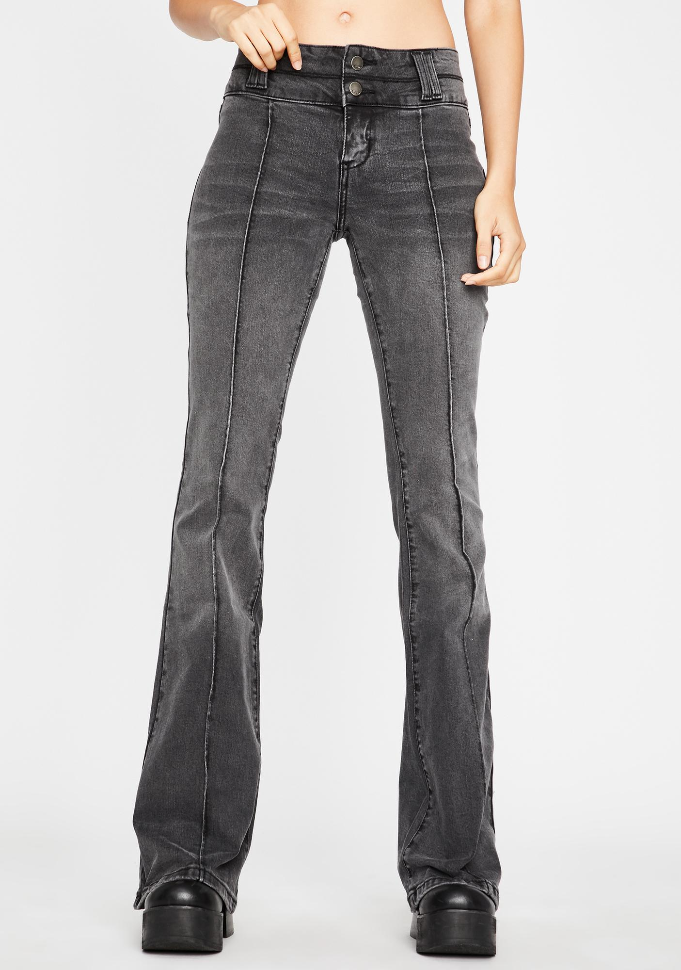 Avenue Groovin' Denim Flares by