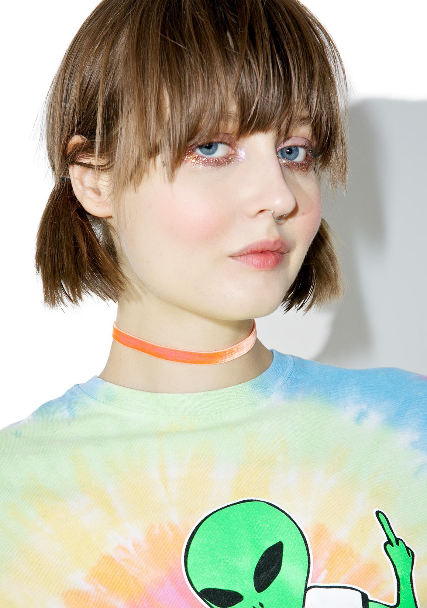 Trixy Starr Tangerine Dreams Velvet Choker