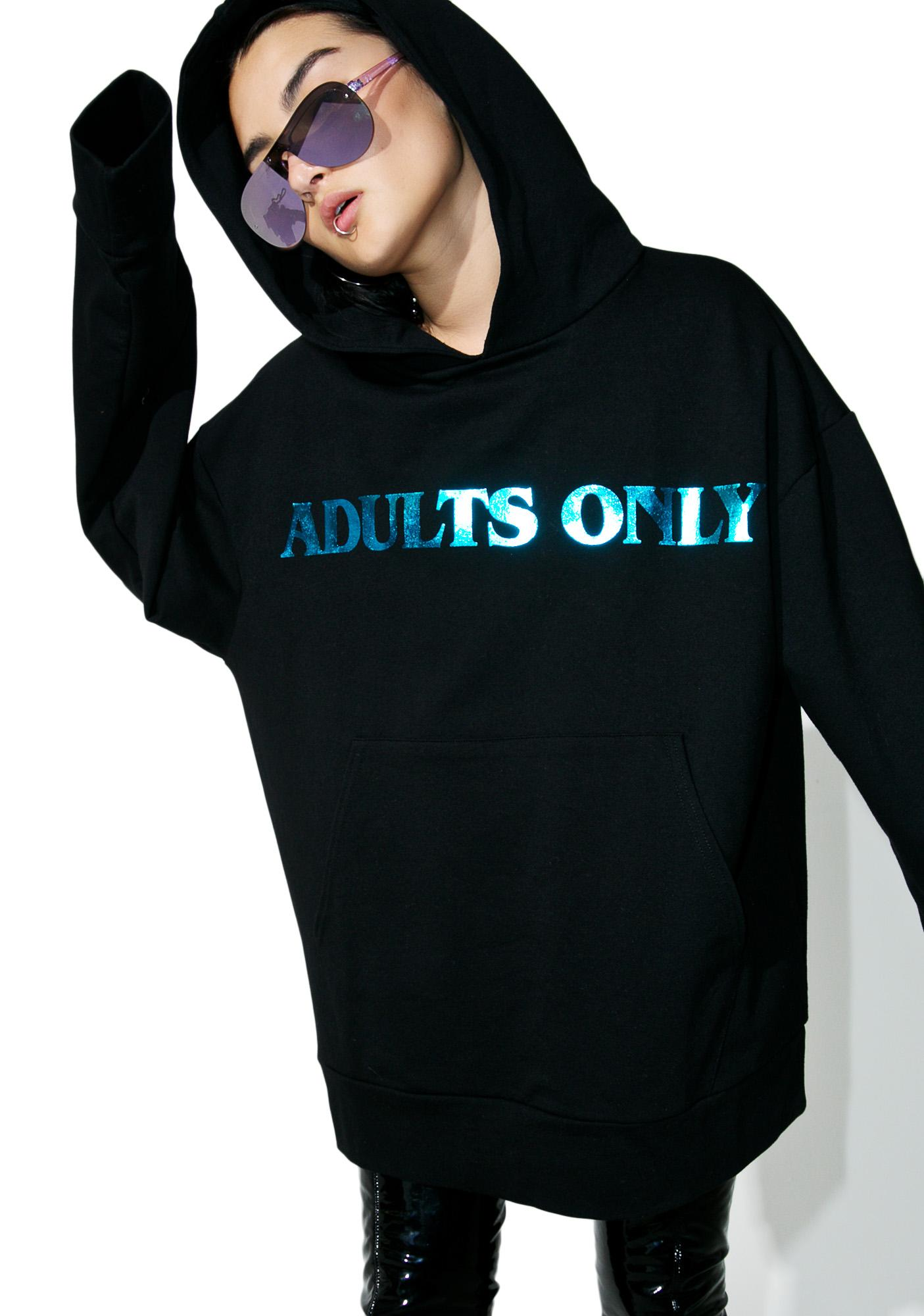 Brashy Adults Only Hoodie