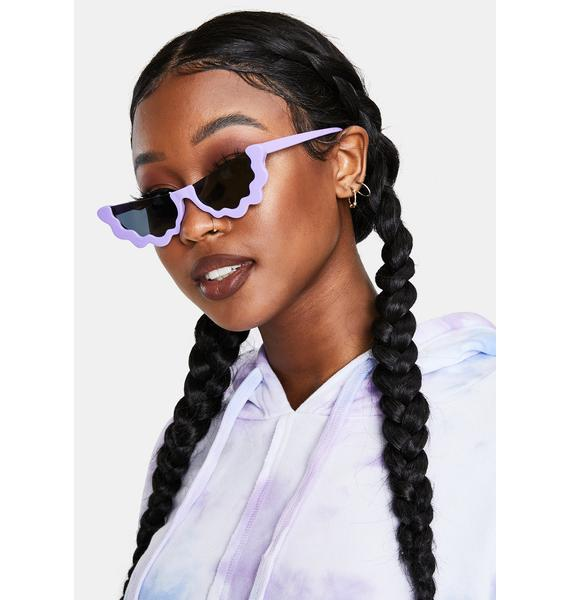Dadybones Lavender Groover Sunglasses