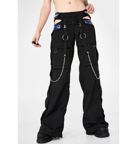 Namilia Blue Electric Breakaway Cargo Pants