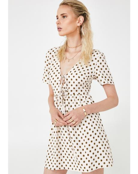 Chic Life Polka Dot Dress