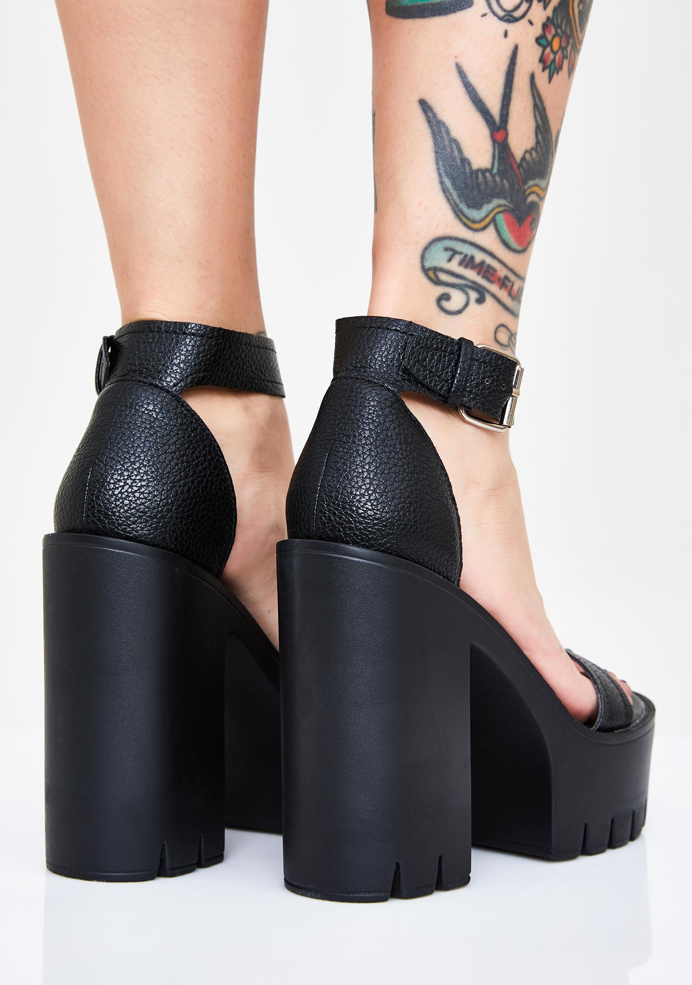 Stormi Sinna Platform Heels