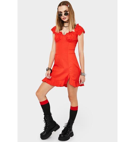 Boy Crazy Mini Dress
