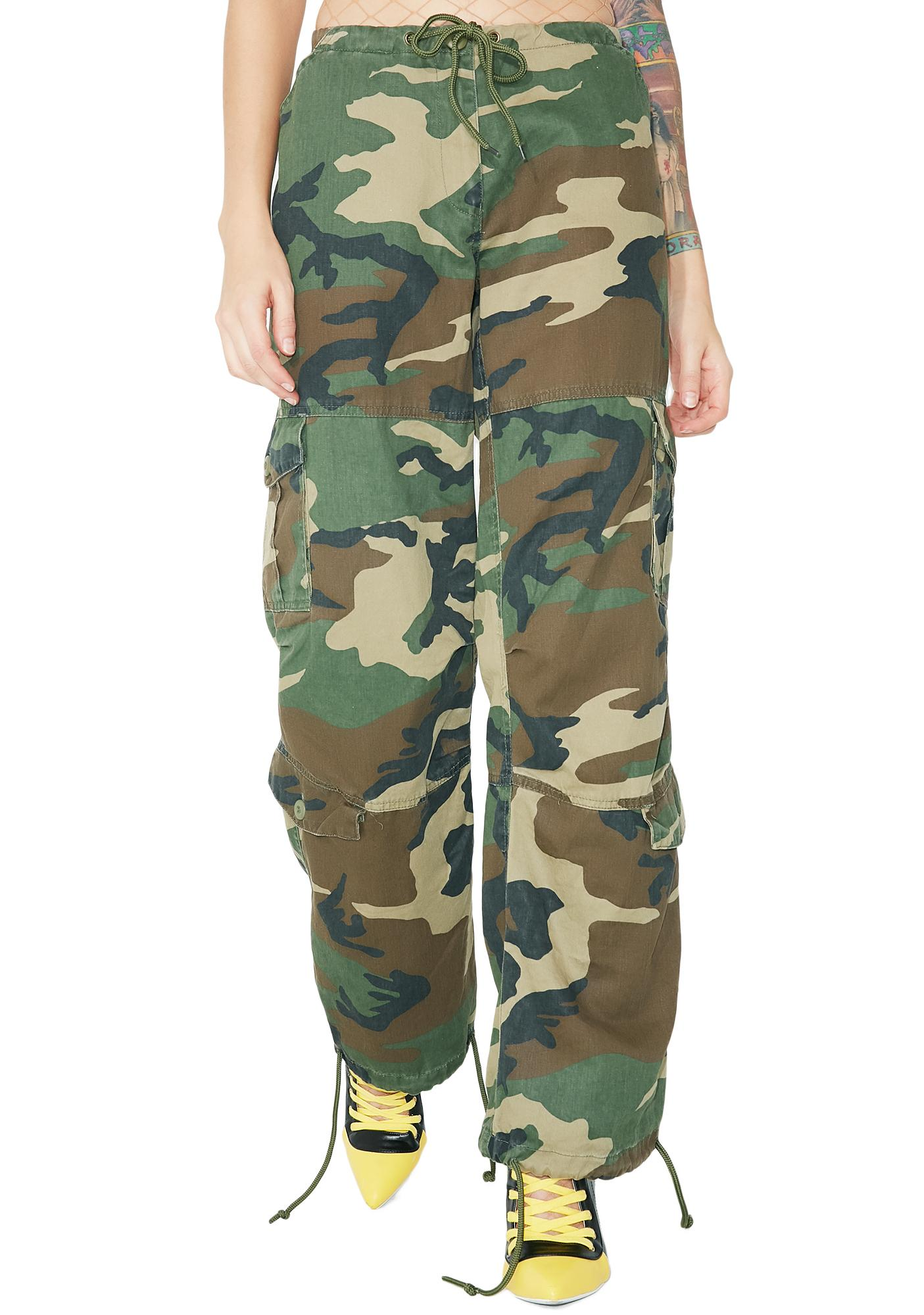 Paratrooper Drawstring Fatigues