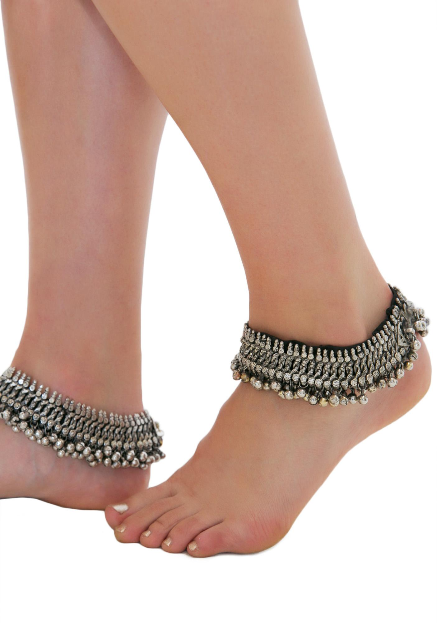 Rock n Rose Joslin Decorated Anklets