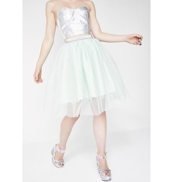 Sugar Thrillz Twirl For Me Tulle Skirt
