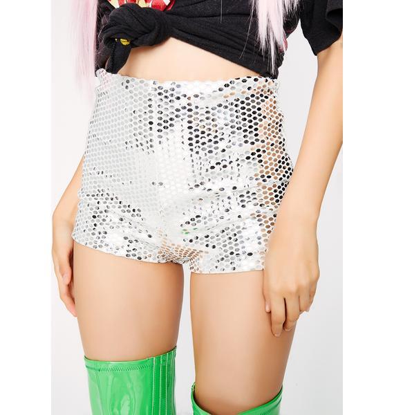 Pure Not Goin' Home Sequin Shorts