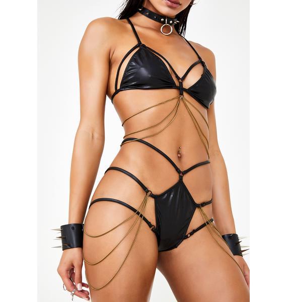 Club Exx Digital Ecstasy Harness Panties