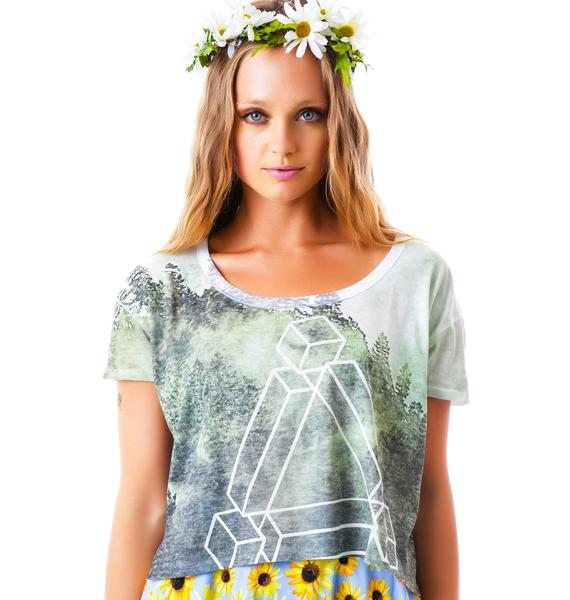 Jenga Crop Box Tee