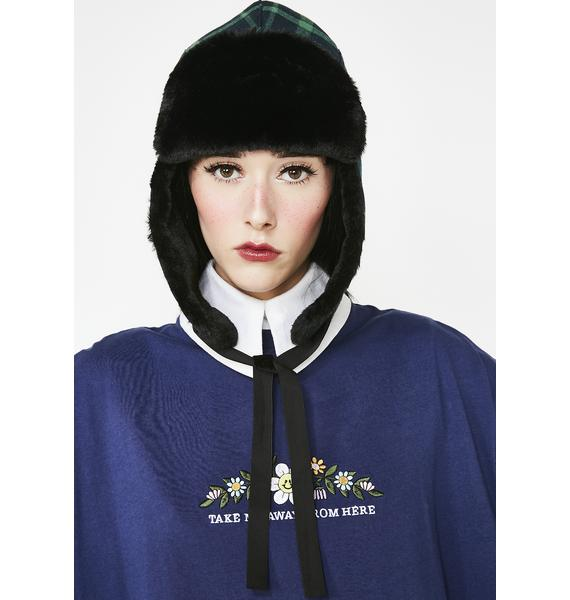 Lazy Oaf Going Nowhere Trapper Hat