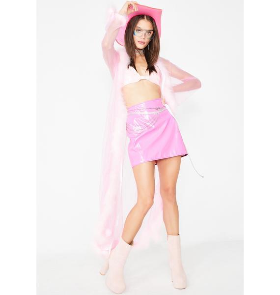 Tiar PVC Mini Skirt