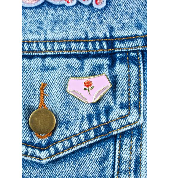 Creepy Gals Panties Pin