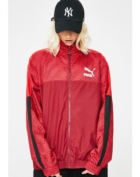 Rhubarb Repeat T7 Track Jacket