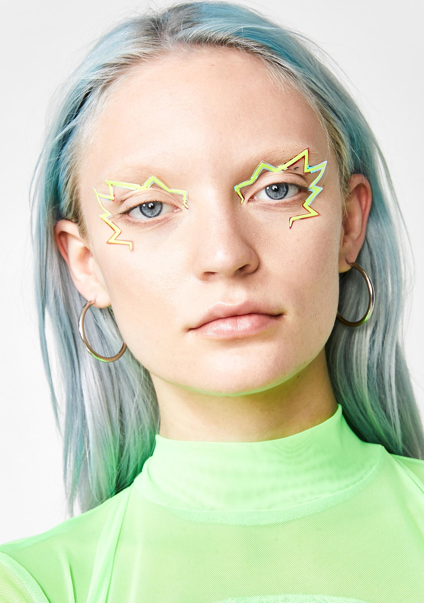 Face Lace Flash Glance