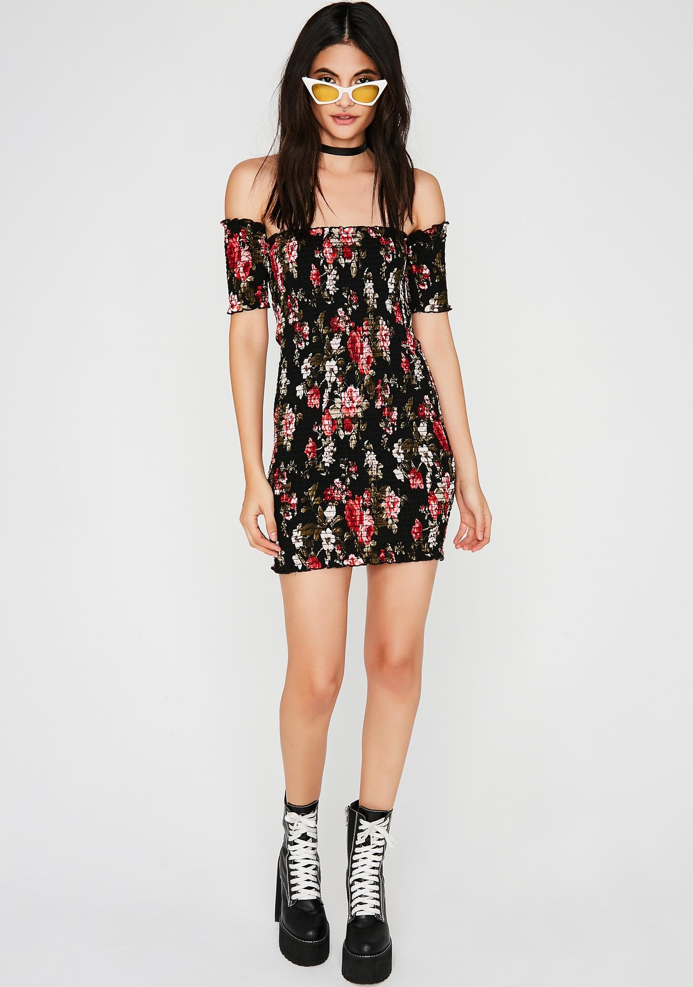 Motha Flower Mini Dress