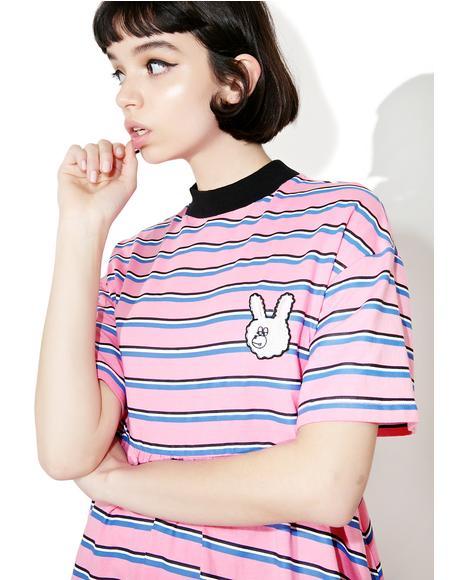 Striped Bunny Dress