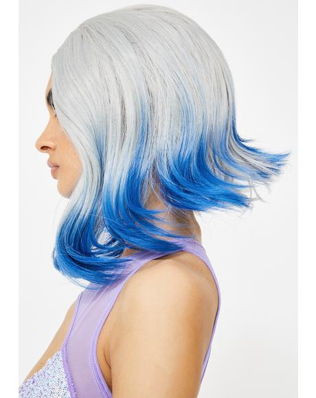 Punk Mermaid Dip Dye Wig
