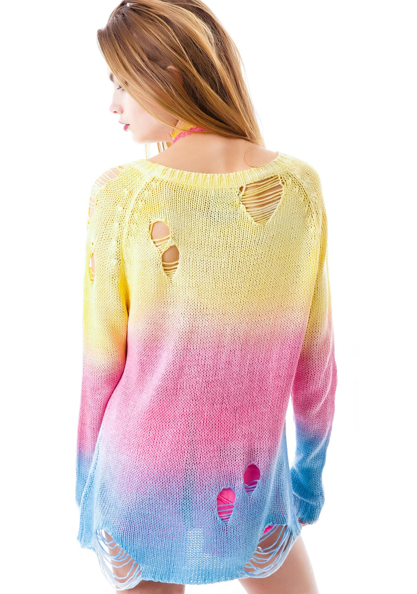 UNIF Sherbert Sweater