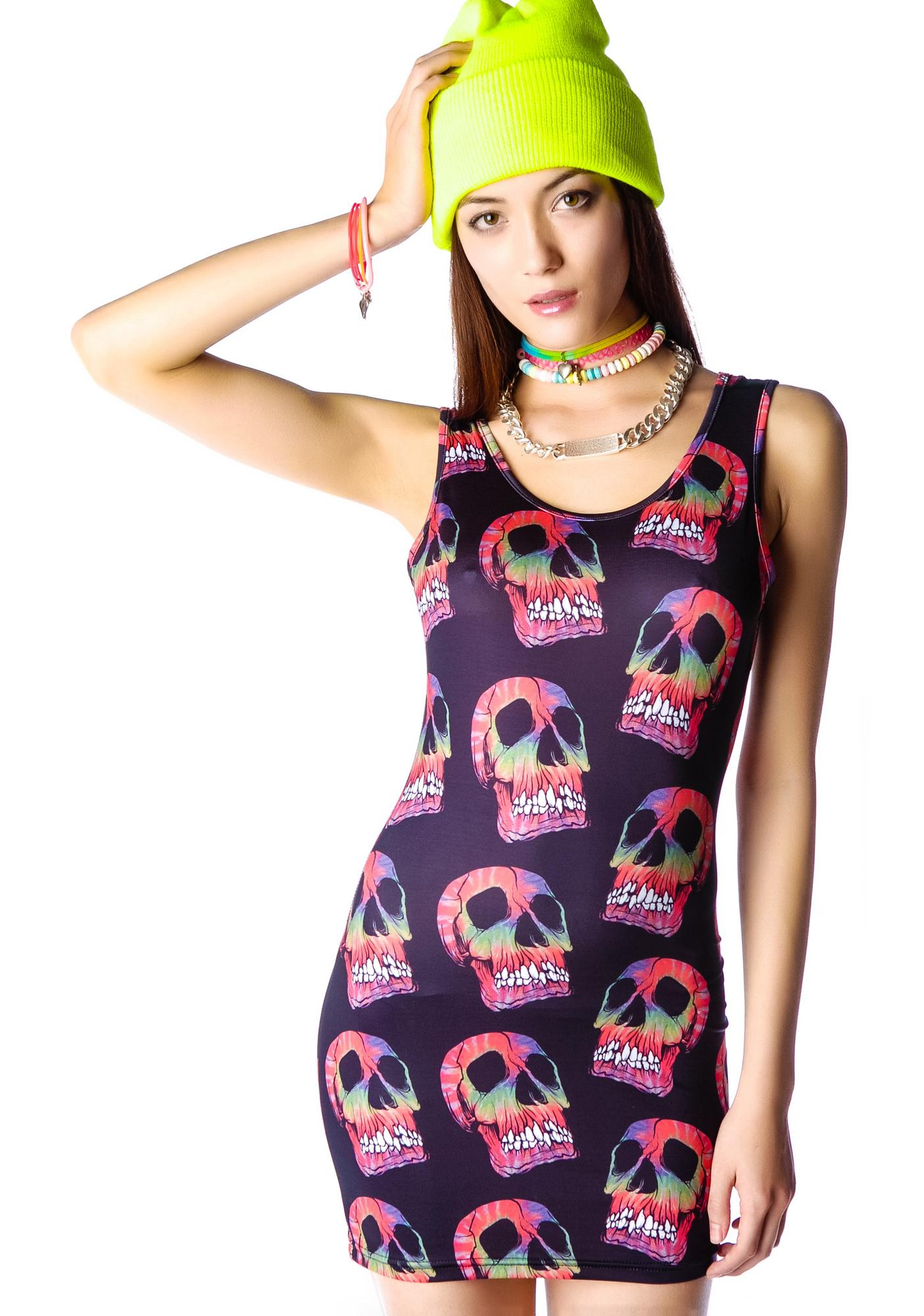 RIP Skull Dress