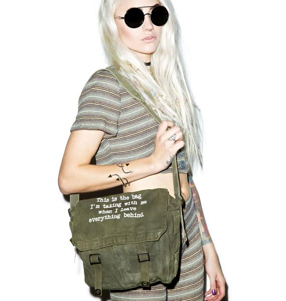 Jac Vanek This Is The Bag Military Bag