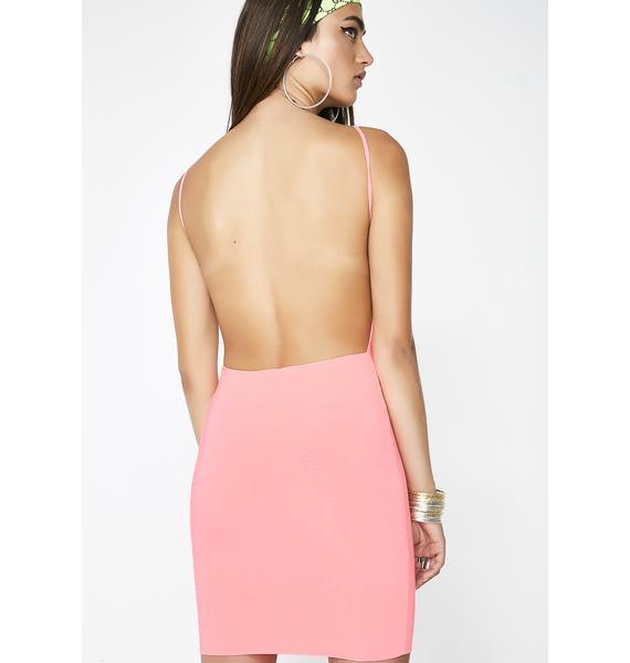 Flex On' Em Backless Dress