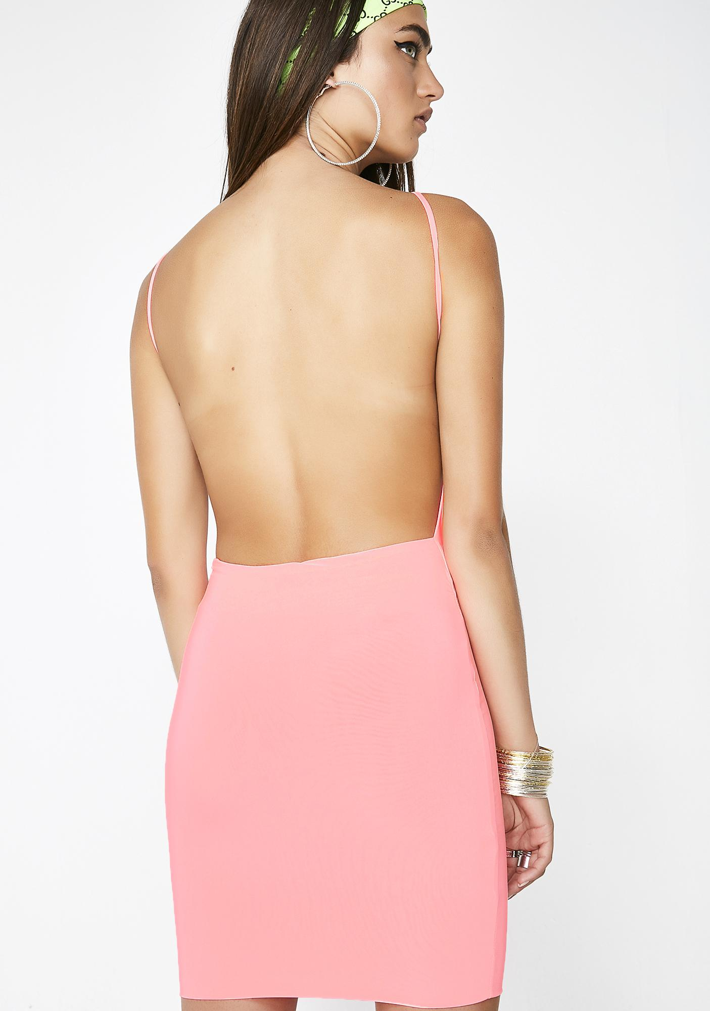 Flex On' Em Backless Dress