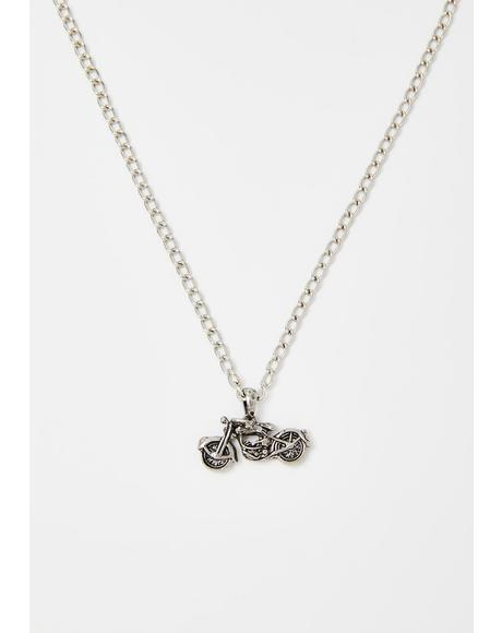 Crashin' Youngin' Moto Necklace