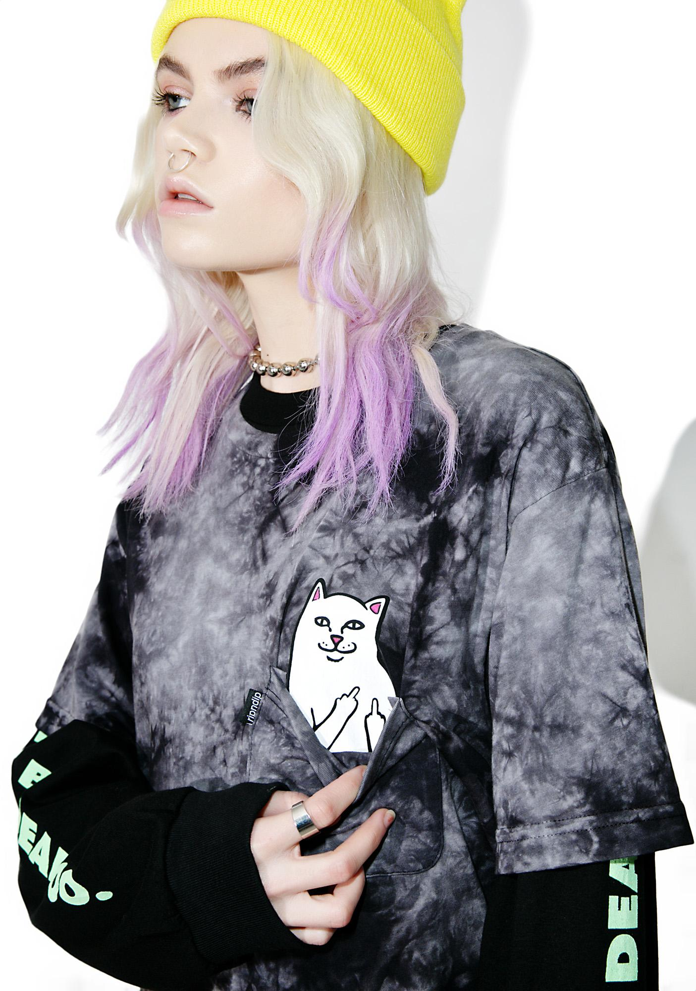 RIPNDIP Lightning Lord Nermal Pocket Tee