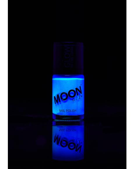 Blue Glow In The Dark Nail Varnish