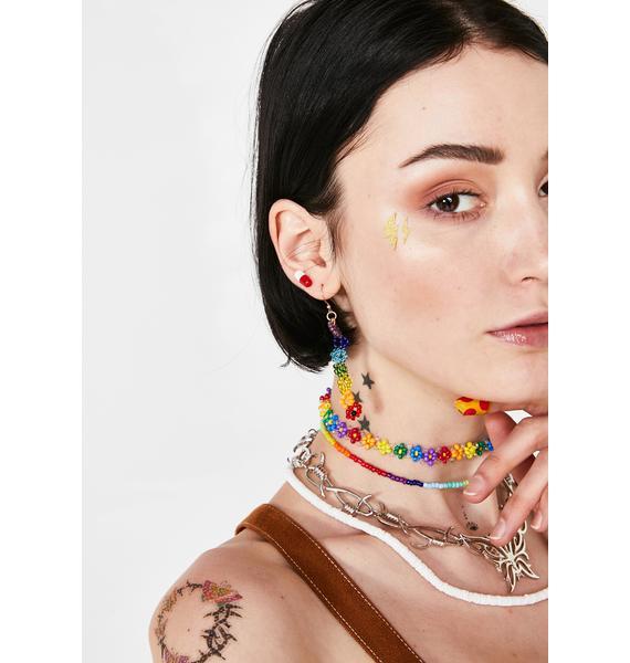In Full Bloom Rainbow Earrings