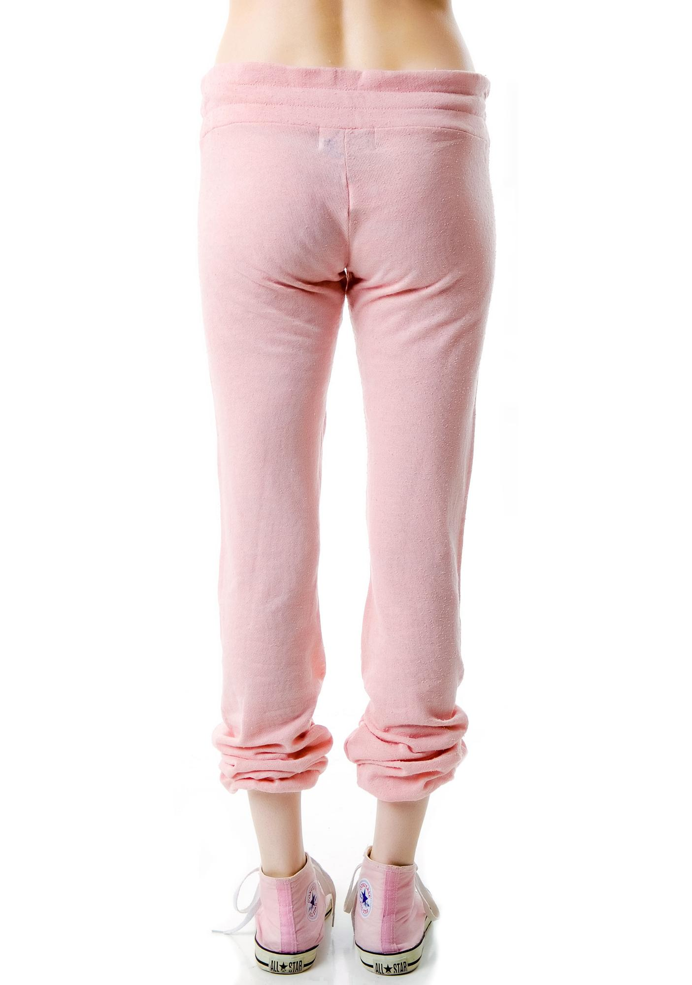 Wildfox Couture Starshine Bottom Malibu Skinny Sweats
