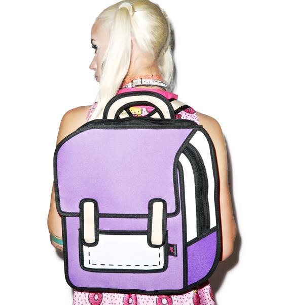 Explorer Cartoon Backpack
