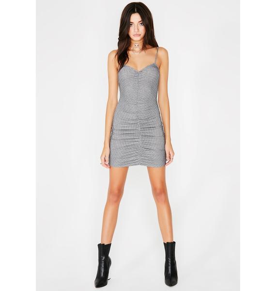 Doin' Fine Mini Dress