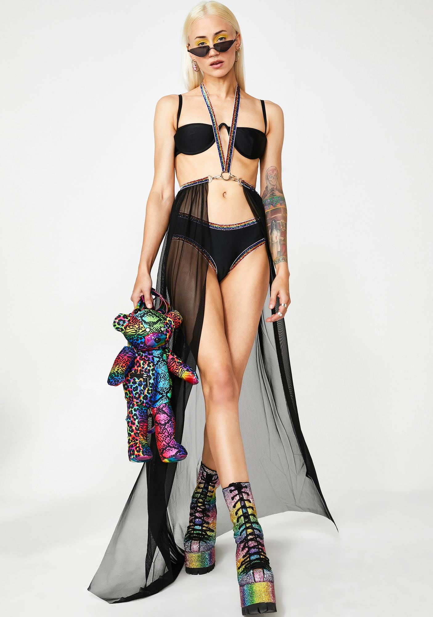 J Valentine Prism Spellbound Harness Skirt