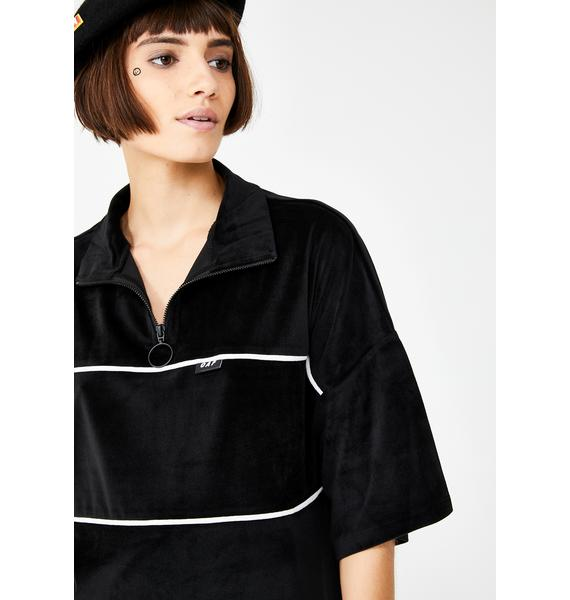 Lazy Oaf Offside Velour Dress