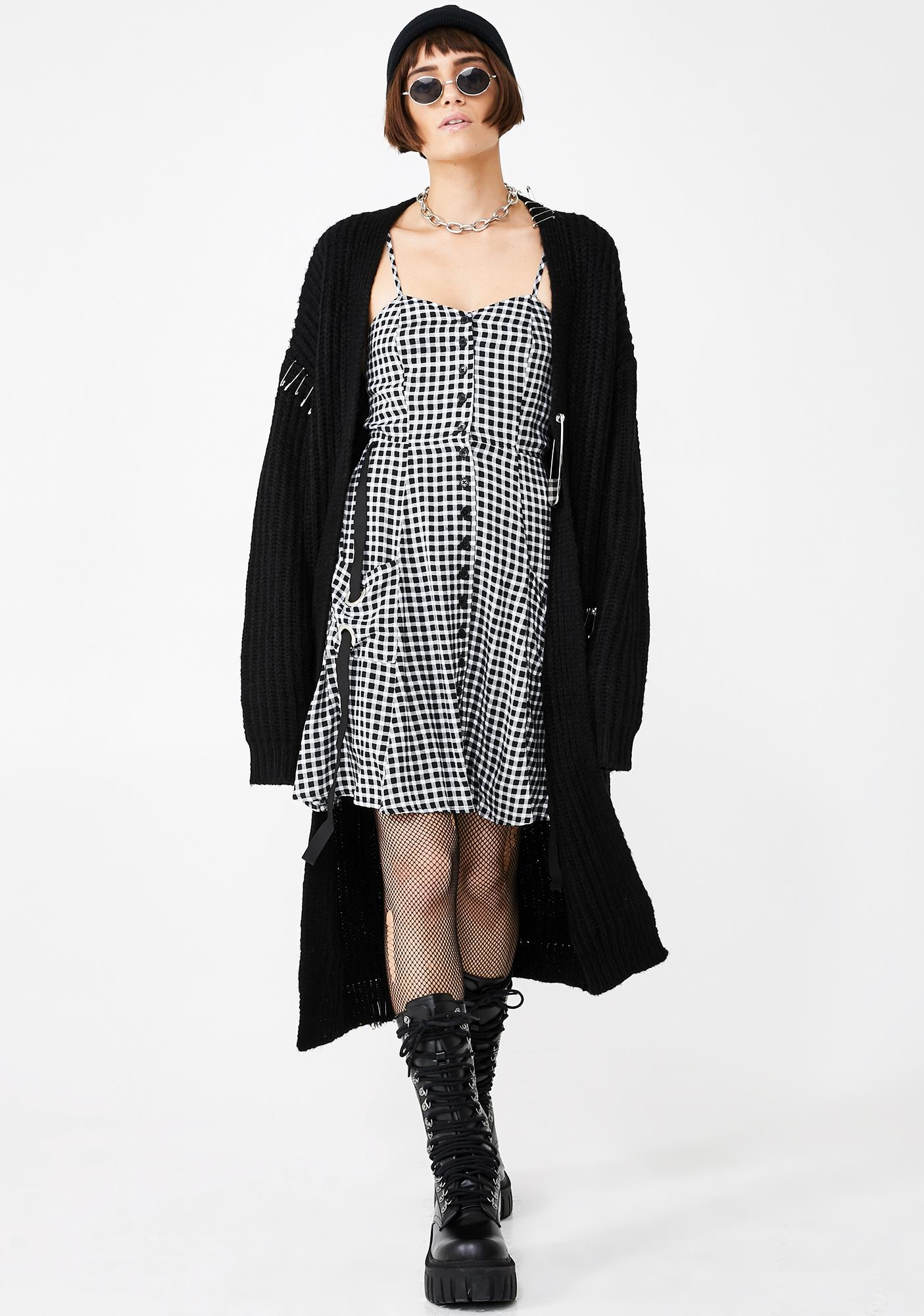 Disturbia Juno Plaid Dress