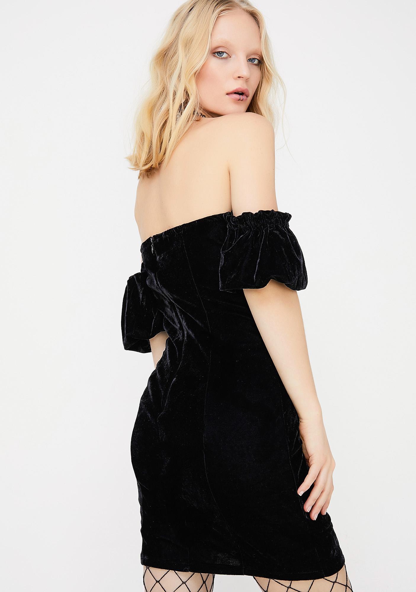 Firzt Luv Off The Shoulder Dress