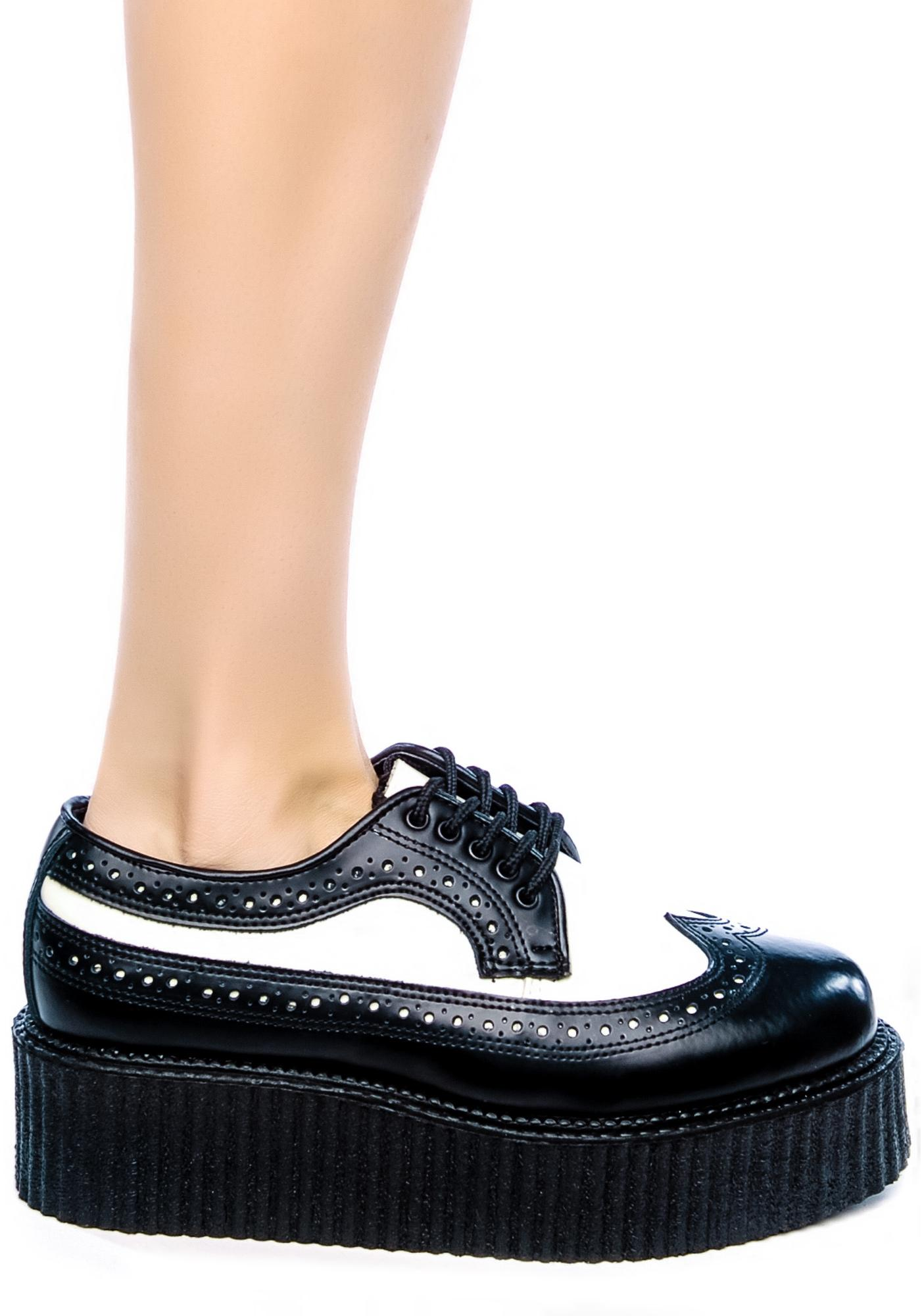Demonia Wingtip Creepers