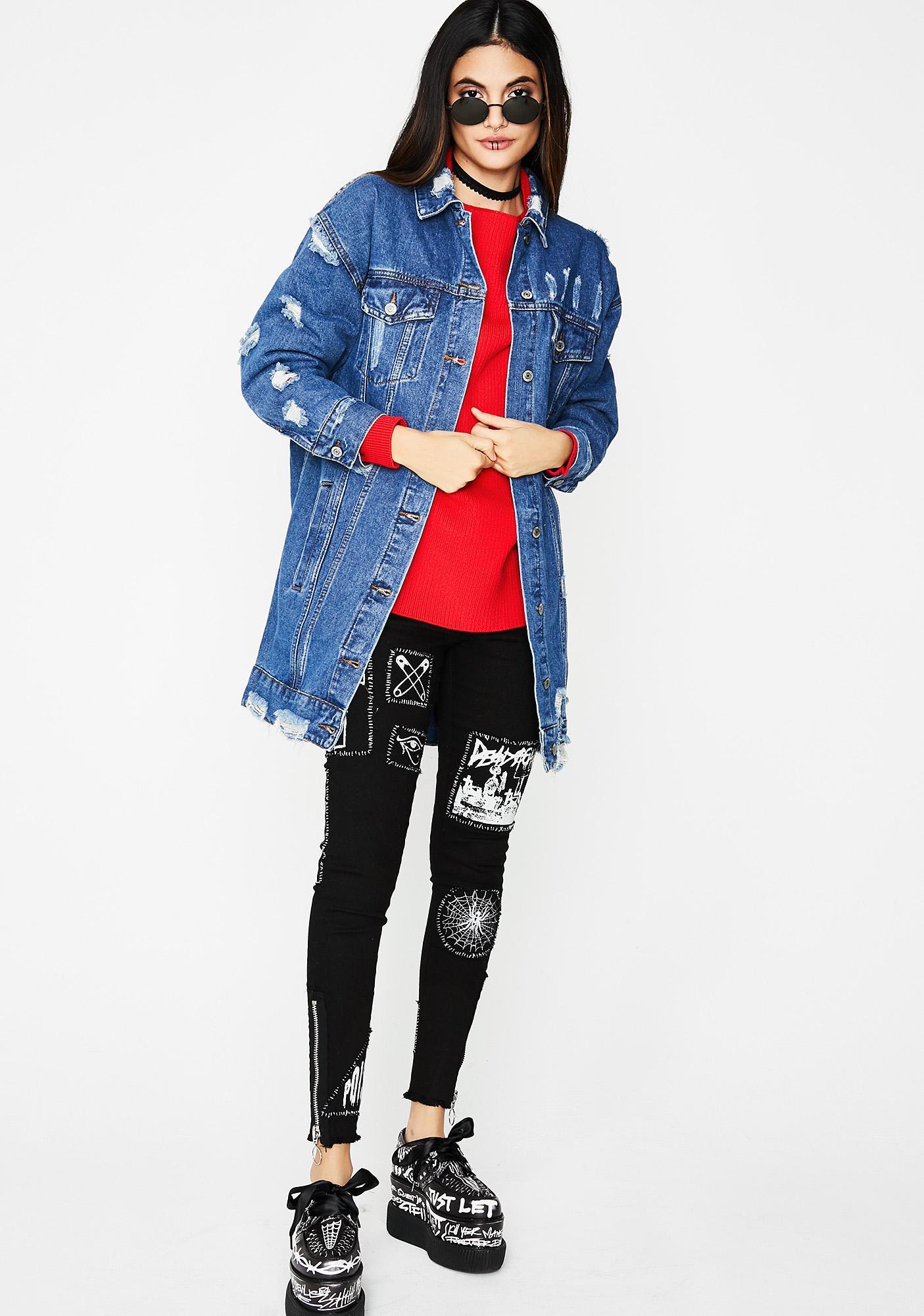 Bad Advice Denim Jacket