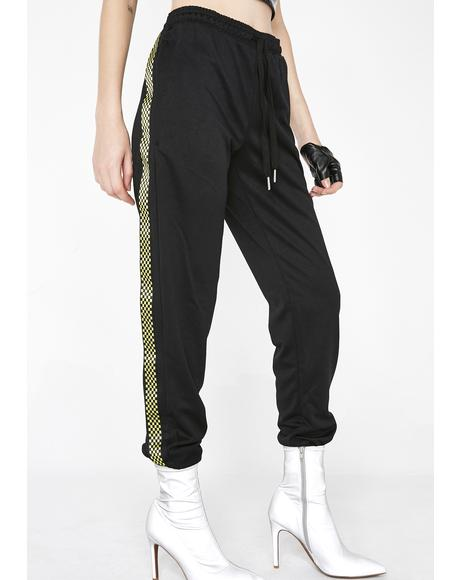Who Gonna Check Me Boo Joggers