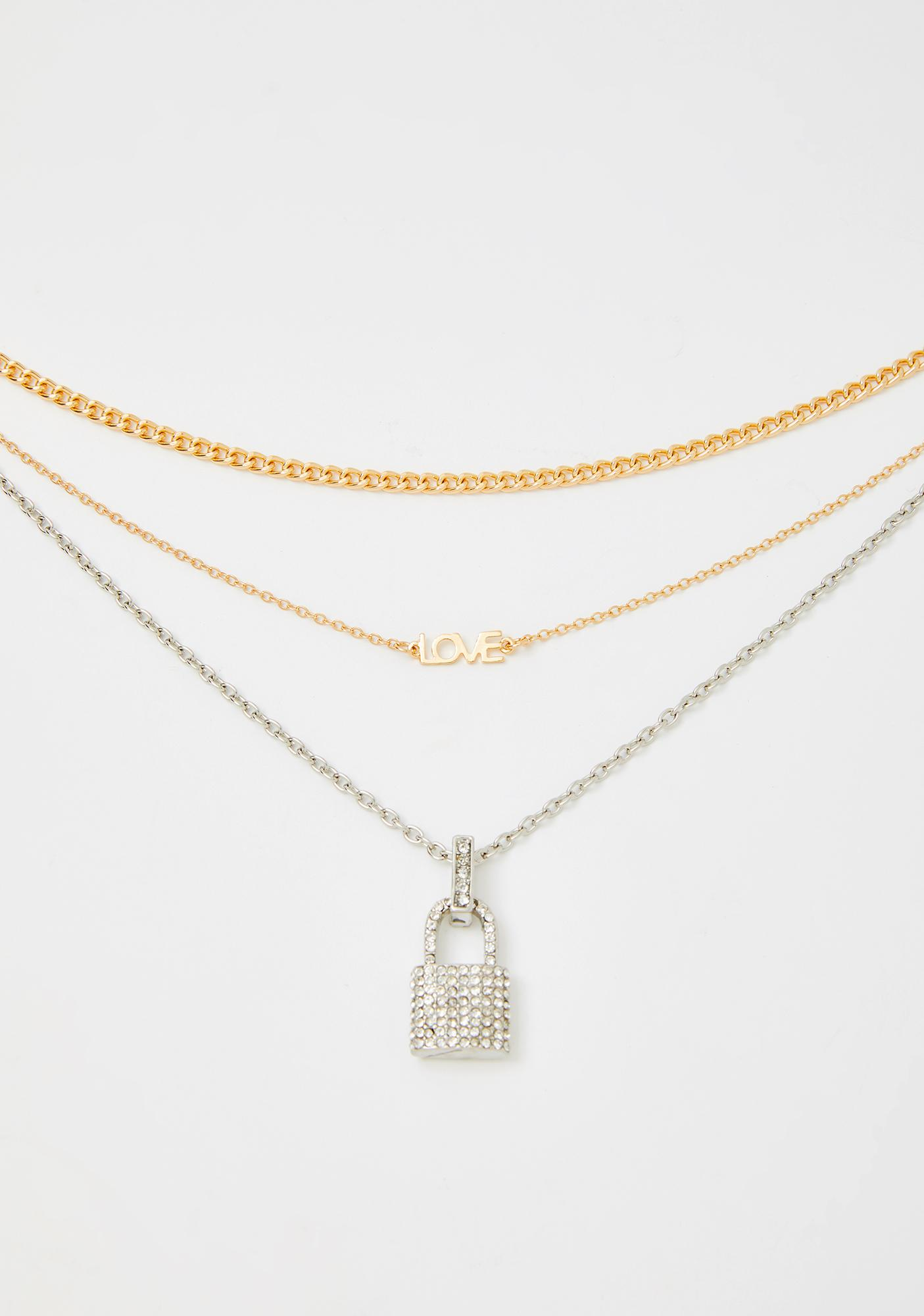 See This Through Chain Necklace