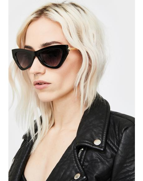 Oh So Chic Cat-Eye Sunglasses