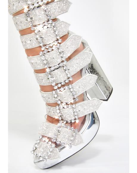 Pimpstress Paradise Bling Boots