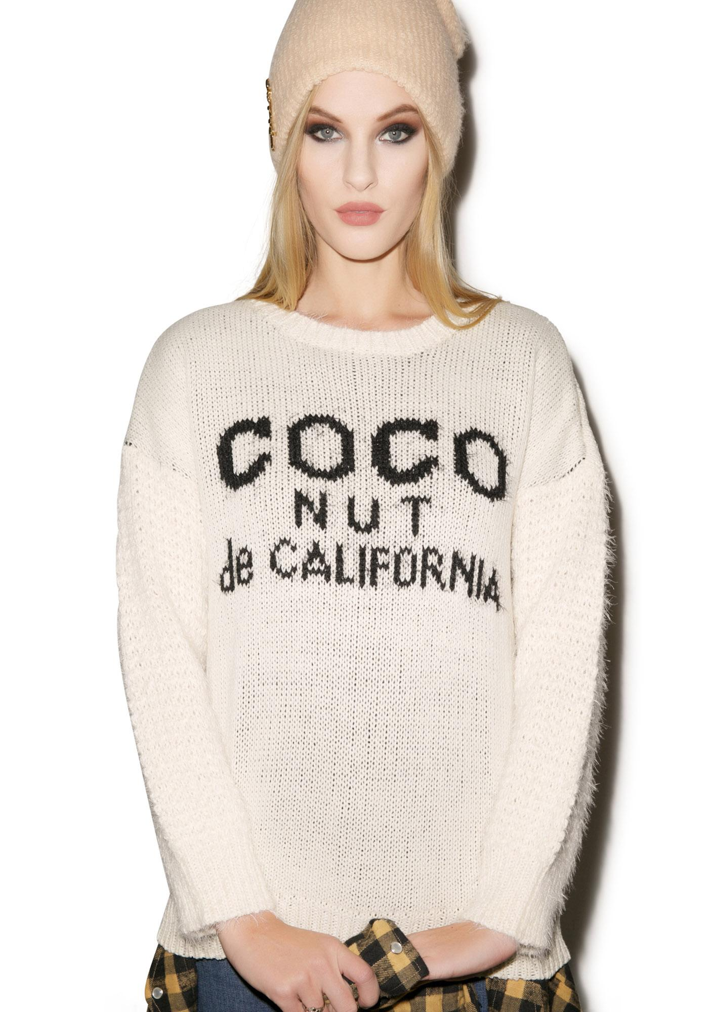 Coconut Sweater