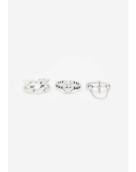 Happy Daze Ring Set