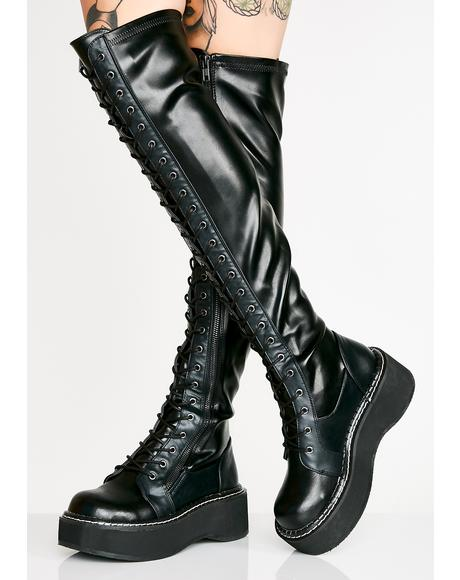 Hellraiser Lace-Up Boots