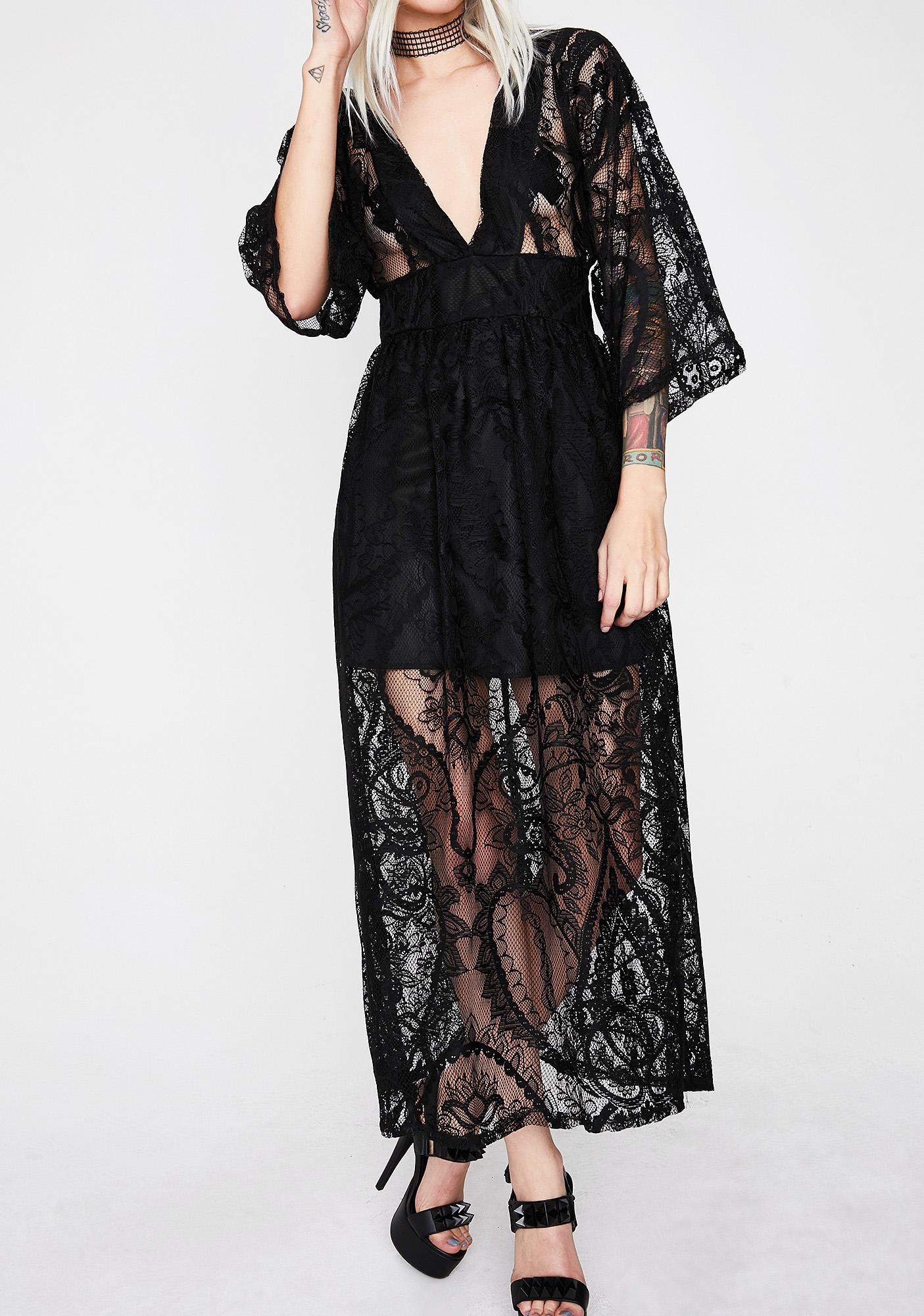 Darker Side Lace Dress