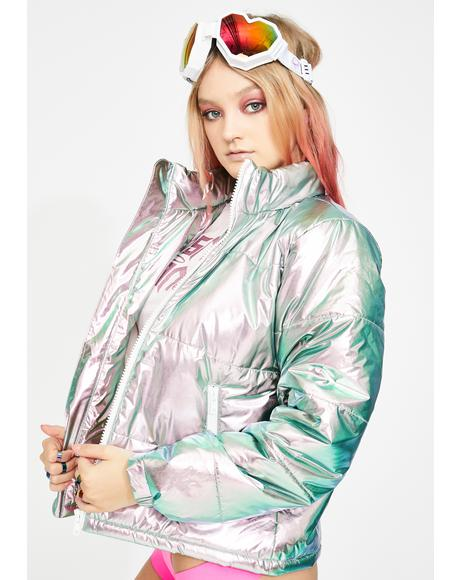 Sweet Space Bae Escapade Puffer Jacket